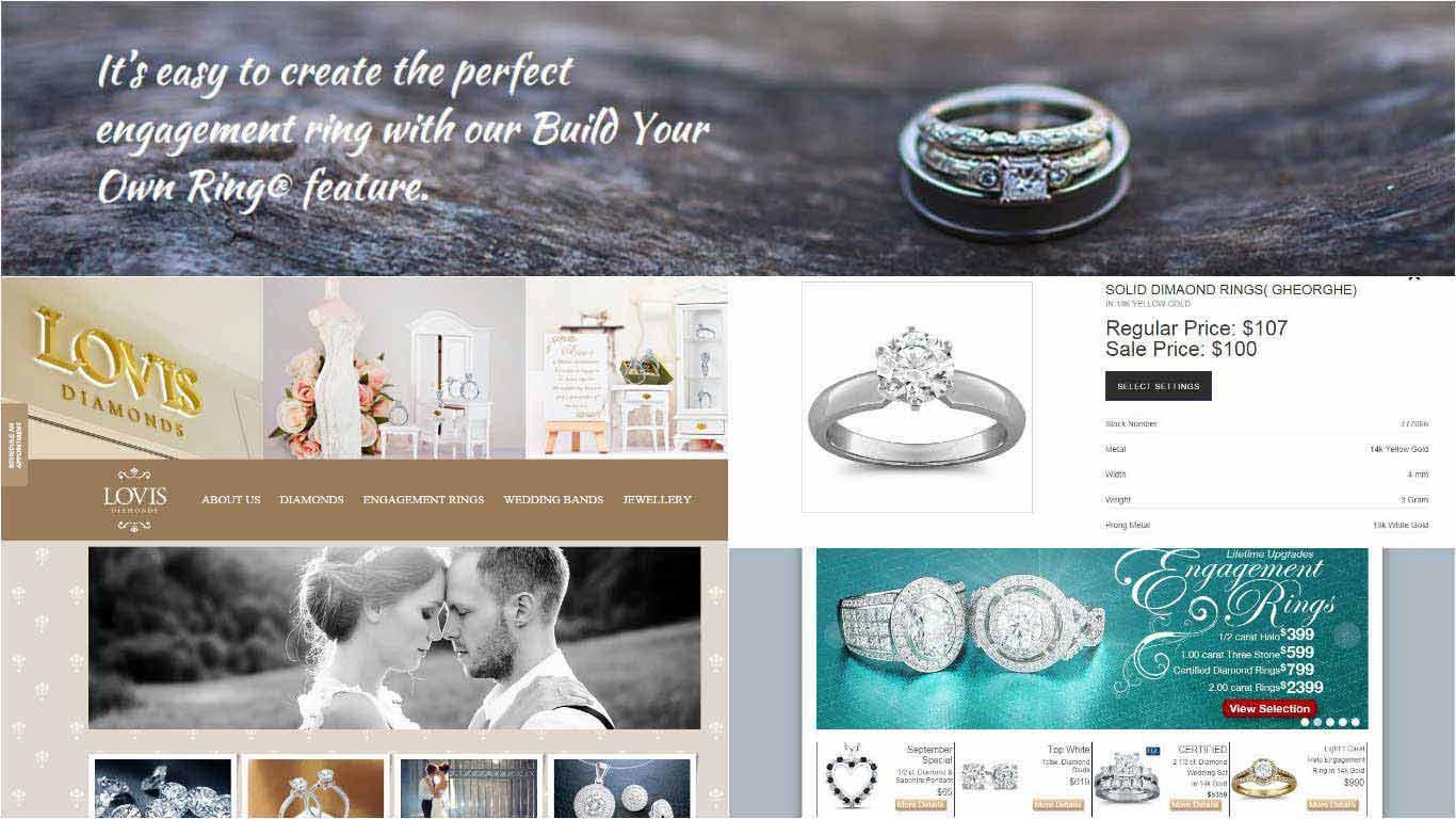 Thiết kế web bán đồ trang sức
