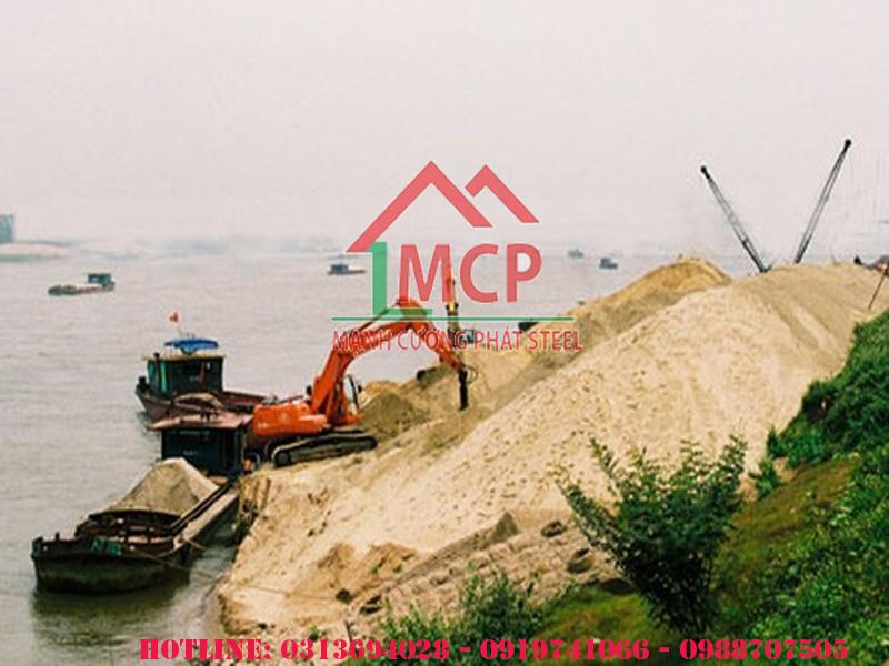 Bảng báo giá cát đổ bê tông tại Tphcm tháng 07 năm 2020