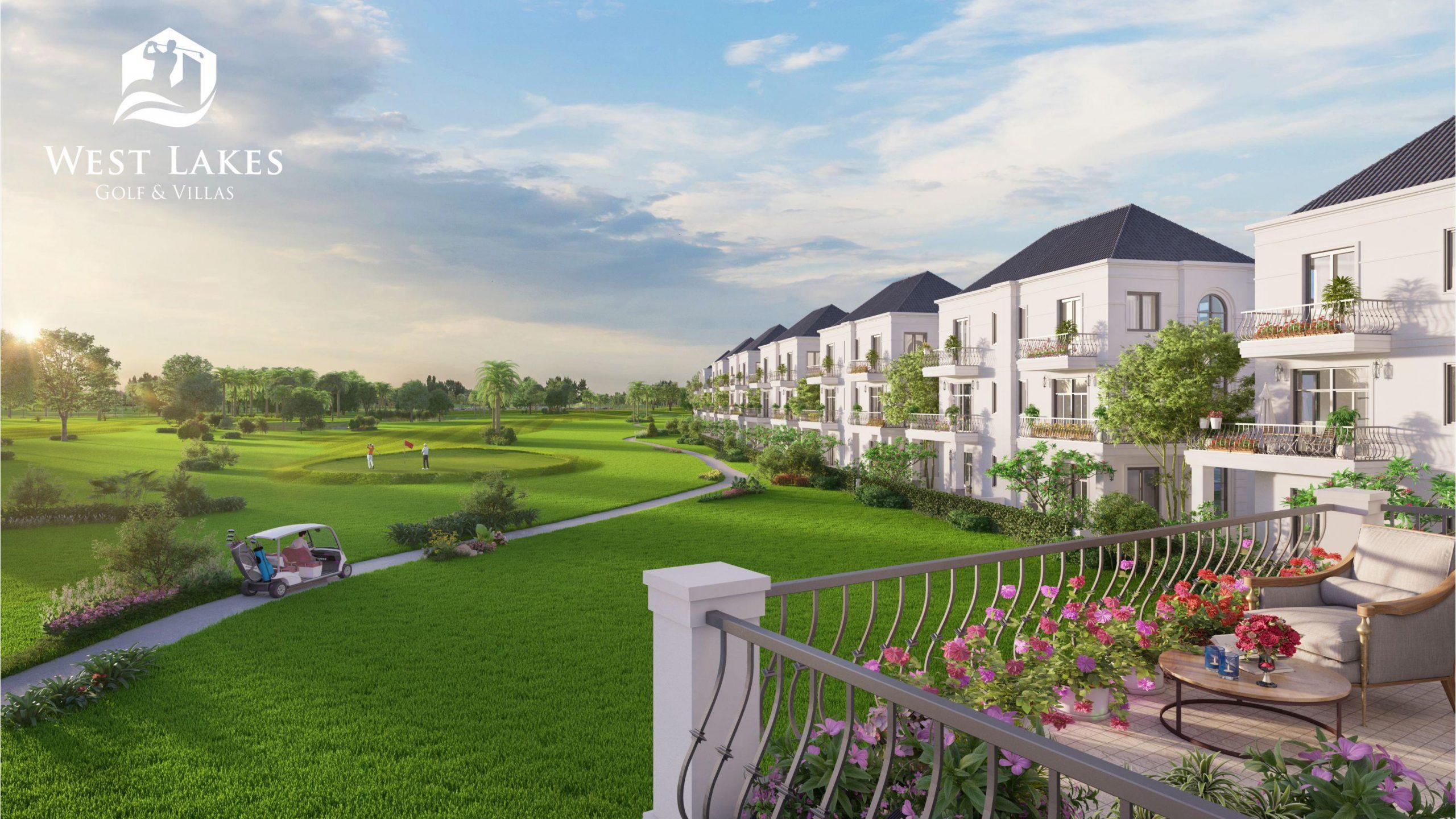 West Lake Golf & Villas – Khu đô thị sân golf đẳng cấp phía Tây Tphcm